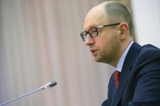 Яценюк: Украина не может