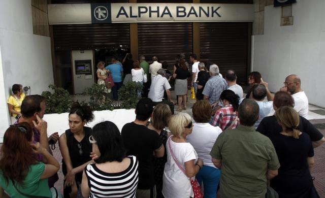 Банки и рынки Греции