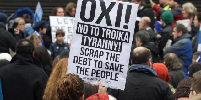 Греция голосует против
