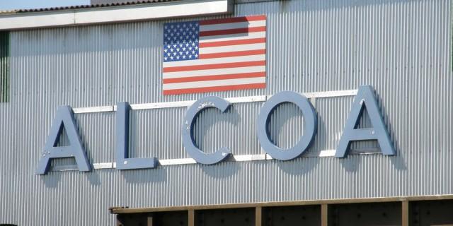 Чистая прибыль Alcoa