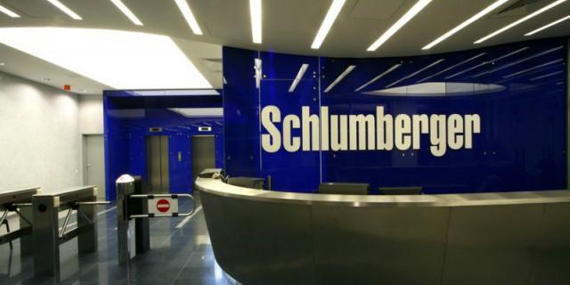 У Schlumberger упала