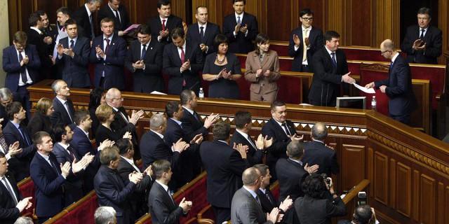 Киев принял все законы