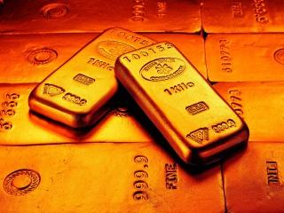 Дешевеющее золото не