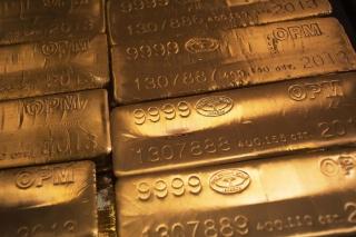 Золото. Сильнейший обвал