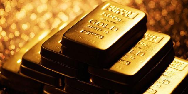 Золото дорожает после