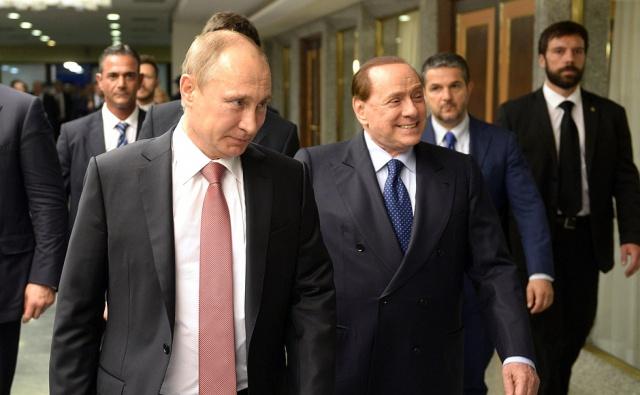 Берлускони: Путин