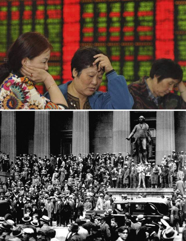 Обвал рынка Китая