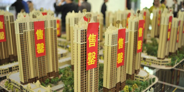 Спад на рынке жилья