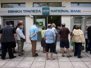 Греческие банки идут на