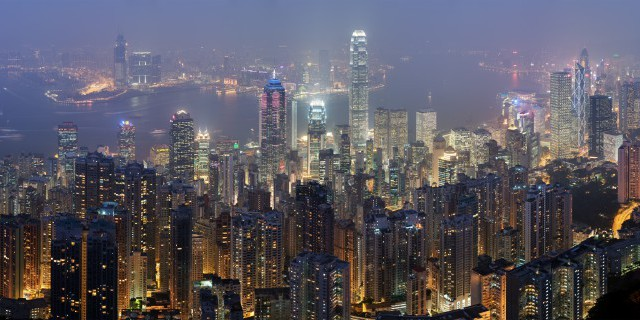 Рост экономики Гонконга