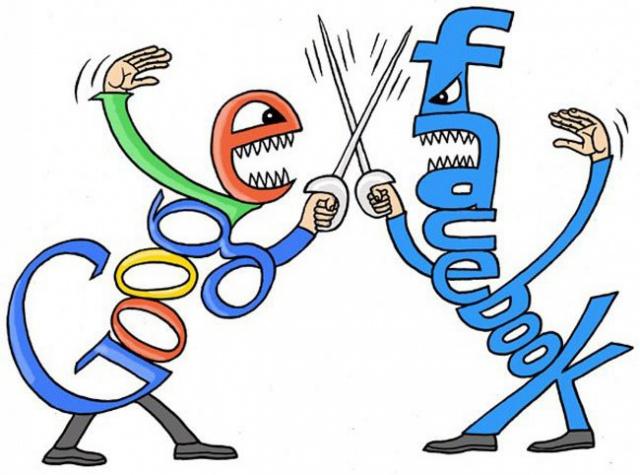 Facebook обогнала Google