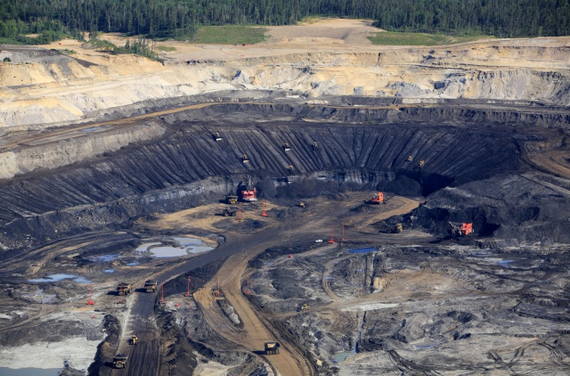 Strip mining effects local economy