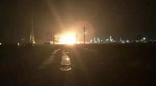 В Китае прогремел взрыв