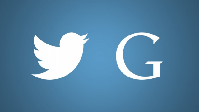Google и Twitter