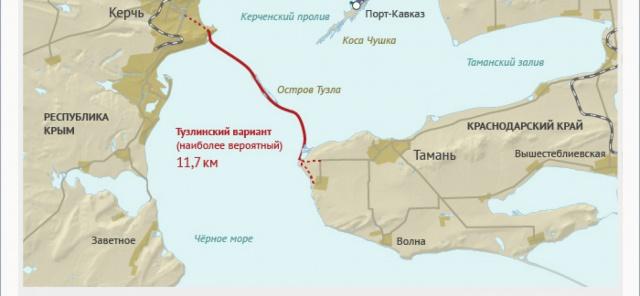 Керченский мост построят