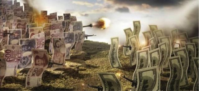 Валютная война: США и