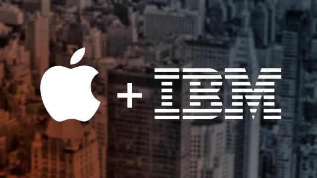 Apple и IBM покоряют