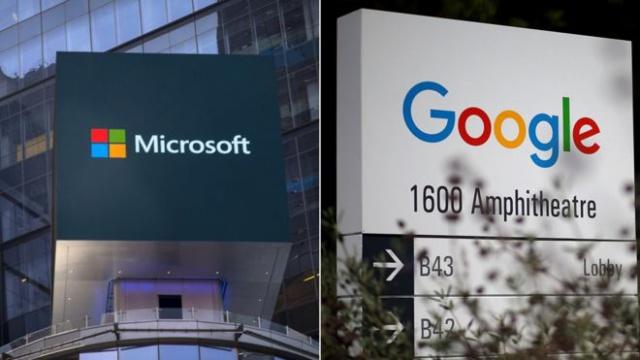 Microsoft и Google: