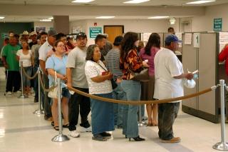 Безработица в США -