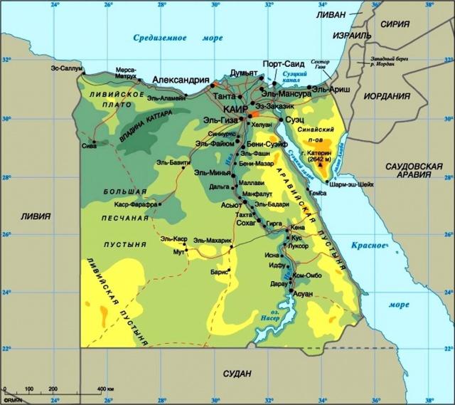 Египет резко увеличил