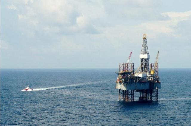 Добыча в Северном море: