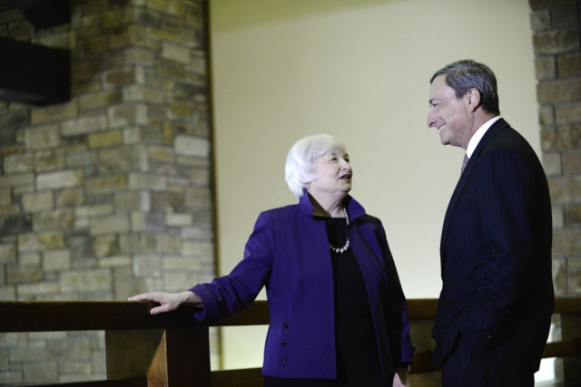 ЕЦБ ставит Федрезерв в