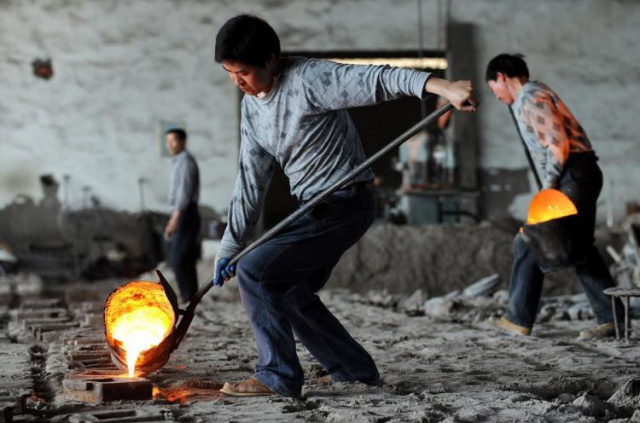 Спрос на сталь в Китае