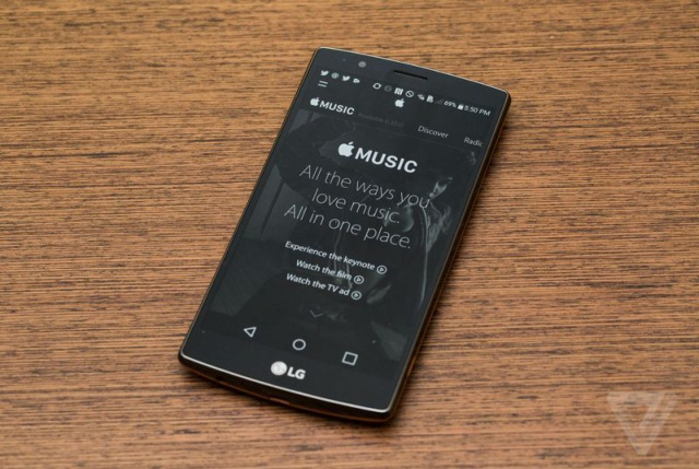 Apple Music стал