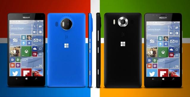 Lumia 950/950 XL стирают