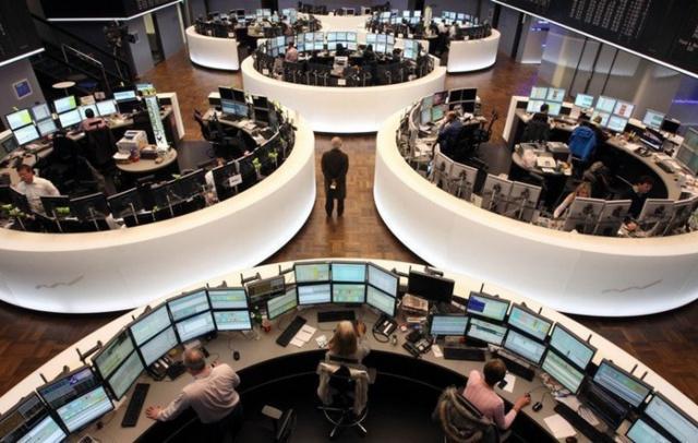 Рынки акций ЕС упали на