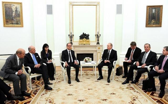 Путин: РФ и Франция