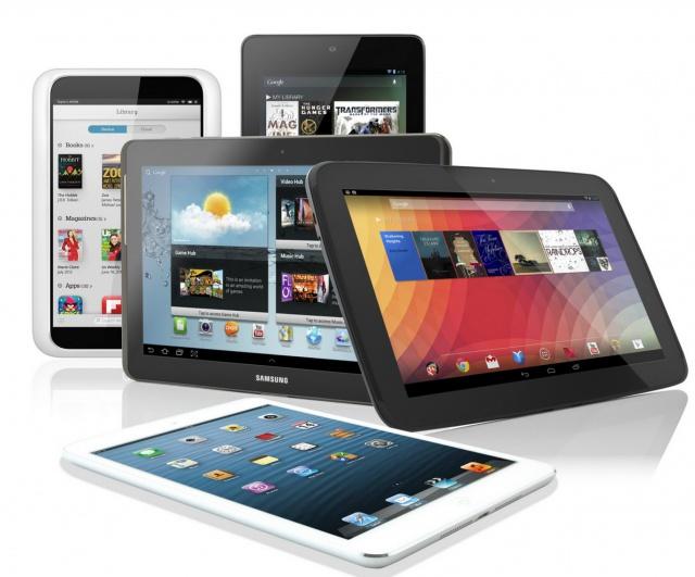 IDC: рынок планшетов в