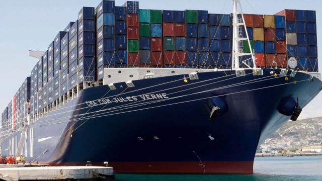 Торговый дефицит Франции