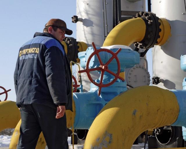 Запасы газа на Украине