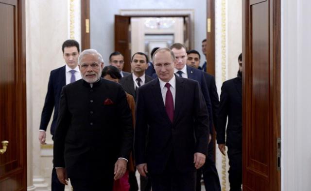 Моди: Россия – партнер