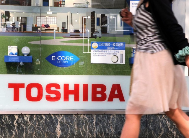 Toshiba займет еще $2,5