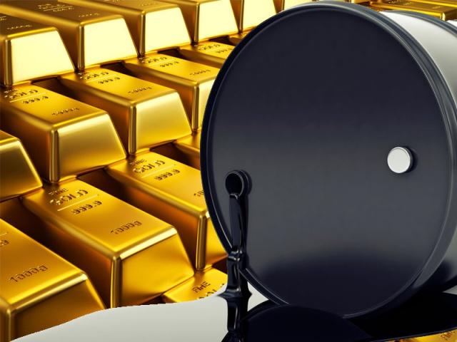 Цена нефти к золоту.