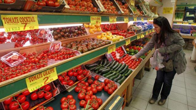 Инфляция во Франции в