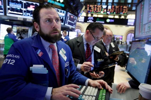 Обвал мировых фондовых