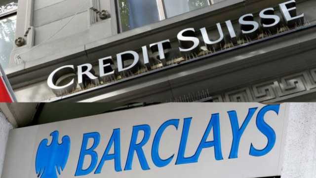 Barclays и Credit Suisse
