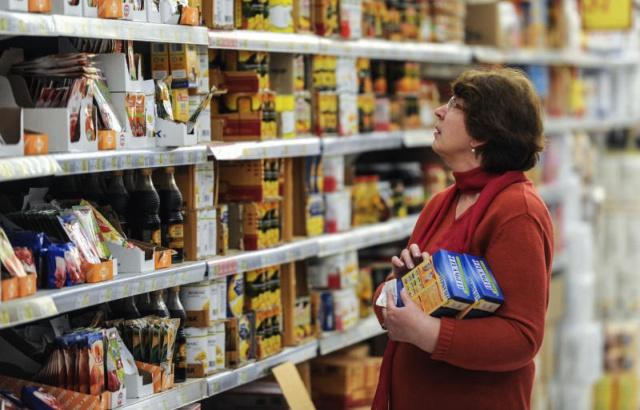Годовая инфляция в РФ