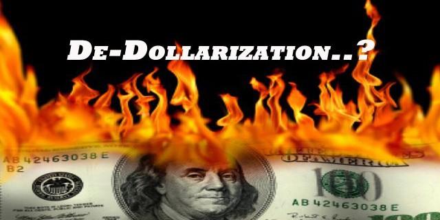 Доля доллара в кредитах