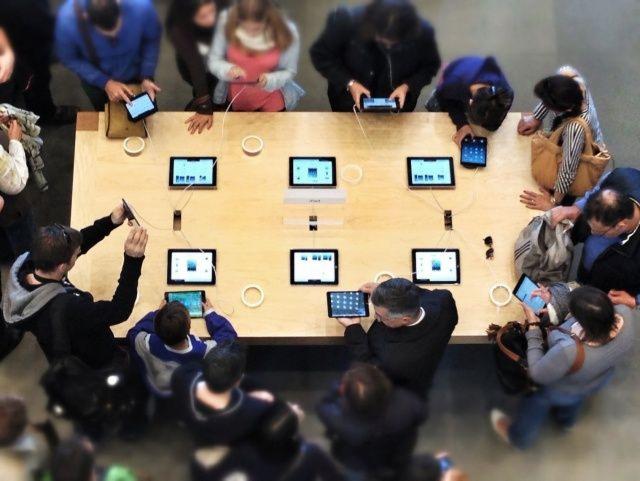 Apple ждет рекордное