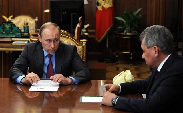 Путин приказал начать