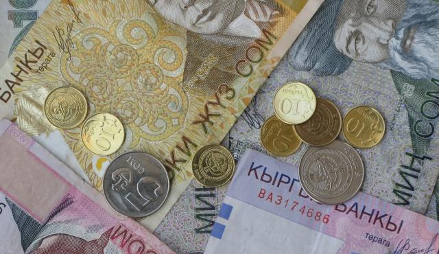 Нацбанк Киргизии скупает