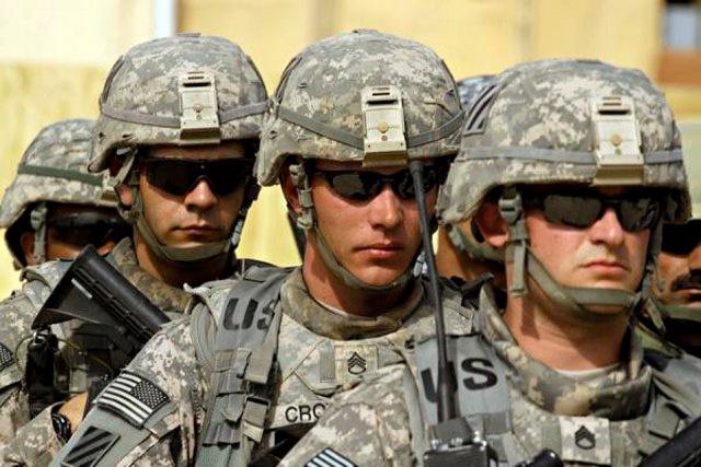 Армия США за Трампа и