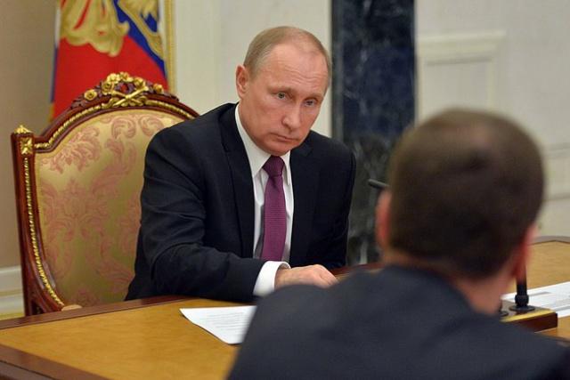 Путин возмутился