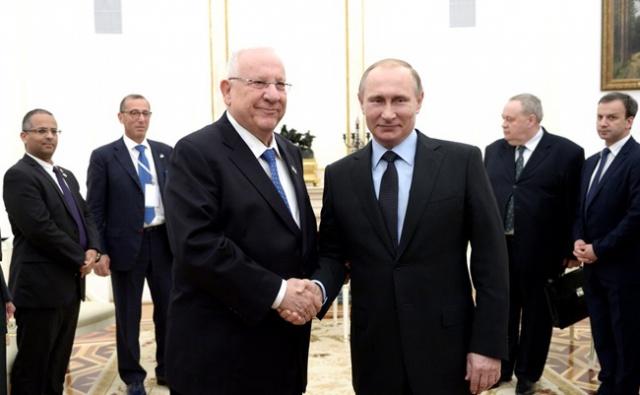 Путин и Ривлин обсудили