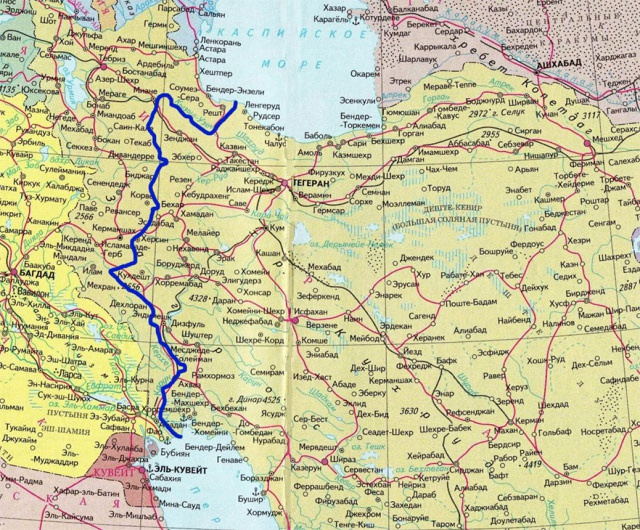 Иран готов строить канал
