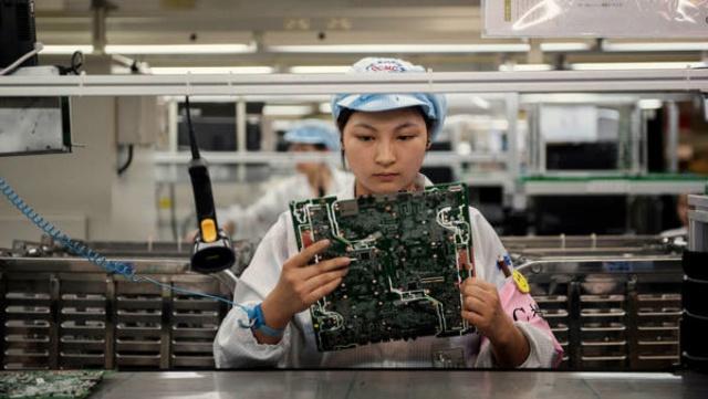 PMI промышленности Китая